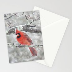 Color My Winter Stationery Cards