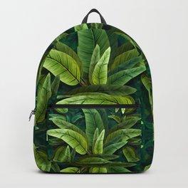 """Retro Tropical Tiki Fantasy 02"" Backpack"