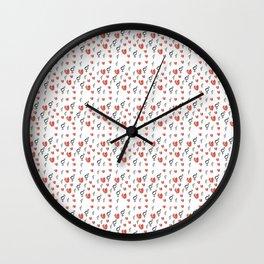 Symbol of Transgender 75 with heart Wall Clock