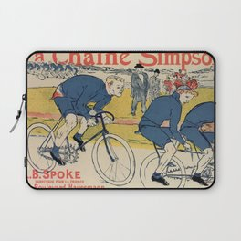 Toulouse-Lautrec vintage cycling ad Laptop Sleeve