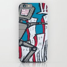 Manhattan vs. Depressed Giant Robot iPhone 6s Slim Case