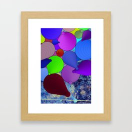 Cascade Copy Framed Art Print