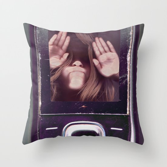 Help! get me out of here..........V3 Throw Pillow