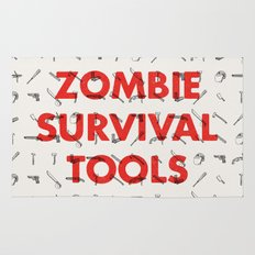 Zombie Survival Tools - Pattern 'o tools Rug