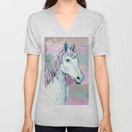 Unicorn Unisex V-Neck
