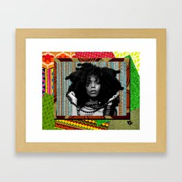 Earthy Badu Framed Art Print