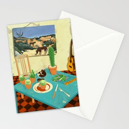 LA MESA DE CACTUS Stationery Cards