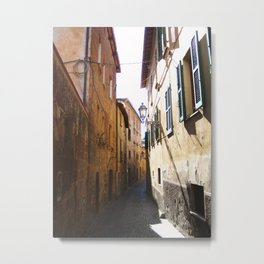 Alley In Italy Metal Print