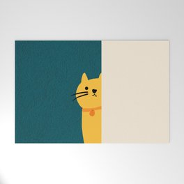 Little_Cat_Cute_Minimalism Welcome Mat