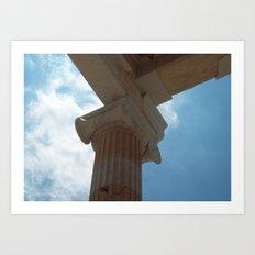 Acropolis, Athens Art Print