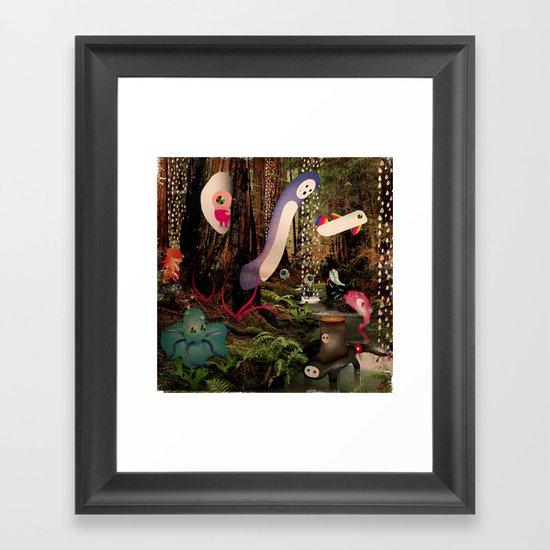 PioVRo_NeL_BosCO Framed Art Print