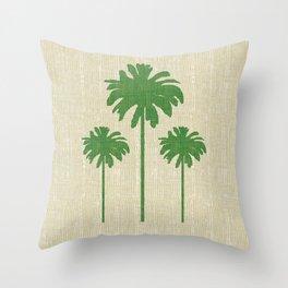 Christmas Palm 2 Throw Pillow