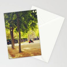 Little Red Vespa in Paris Stationery Cards
