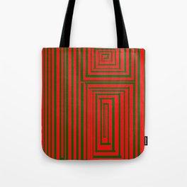 Maze (Green) Tote Bag