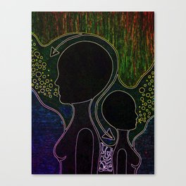 Neon Trip 2 Canvas Print