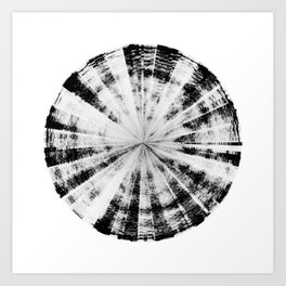 Angry Emotion (HATE IN-SITU) [Square] Art Print