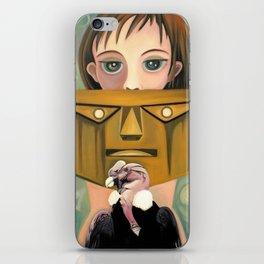 Secret identity iPhone Skin