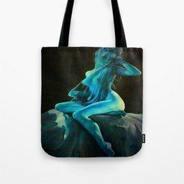 pin UP Girl Blue Dreams Tote Bag
