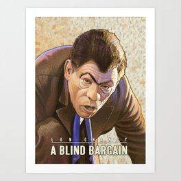 A Blind Bargain Art Print