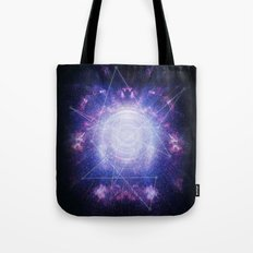 Abstract colossal space Sign! Tote Bag
