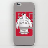 big hero 6 iPhone & iPod Skins featuring Baymax - Big Hero 6 by Nguyen