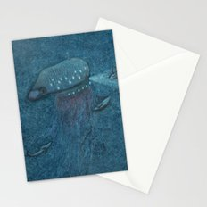 Jellyfish Submarine Stationery Cards