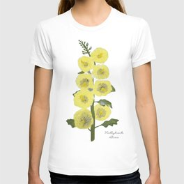 Hollyhock: Alcea T-shirt