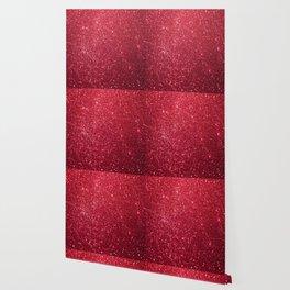 Red Glitter Wallpaper