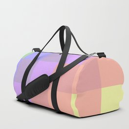 Faded Rainbow Quilt Duffle Bag