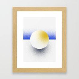 Shape Studies: Circle III Framed Art Print