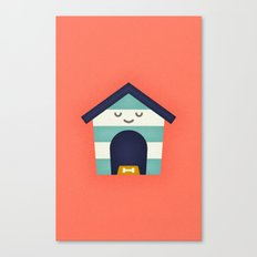 Doghouse Canvas Print