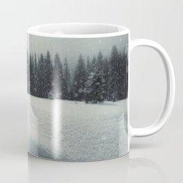 fence snow Coffee Mug