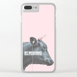 Milkshake Clear iPhone Case
