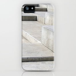 concrete geometry - modernist abstract 4 iPhone Case