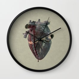 When you held my hand Wall Clock