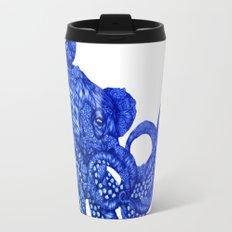 Ombre Octopus Travel Mug