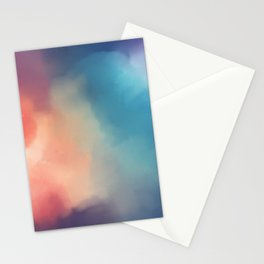 Storm of colors Stationery Cards