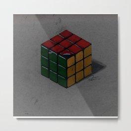 Rubik´s Cube Metal Print
