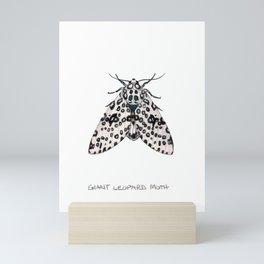 Giant Leoprd Moth Mini Art Print