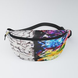 Conjoined Dichotomy Fanny Pack