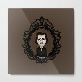 Edgar Allan Poe Metal Print