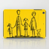 family iPad Cases featuring Family by Moisés Ferreira