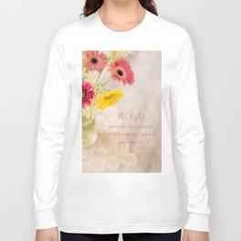 Summer Floral* Long Sleeve T-shirt