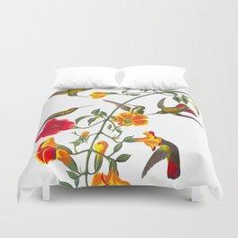Mango Hummingbird Duvet Cover