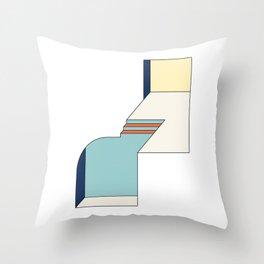 A Strange Place Throw Pillow