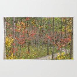 Winding Woods Walk Rug