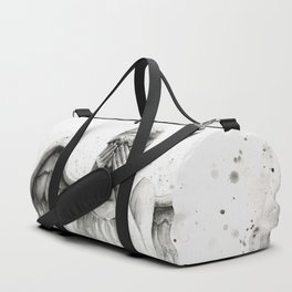 Weeping Angel Watercolor Painting Duffle Bag