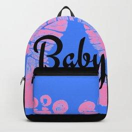 Footprint Newborn Baby By Solid Designs Backpack