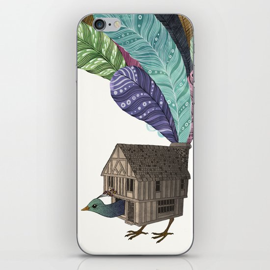 birdhouse revisited iPhone & iPod Skin