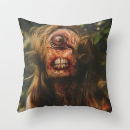 She Has Her Eye On You Throw Pillow